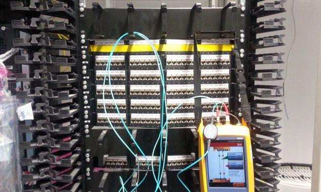Odbiór instalacji niskoprądowej sieci LAN