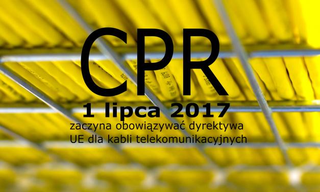 Rozporządzenie dla produktów budowlanych w UE dotyczące kabli telekomunikacyjnych