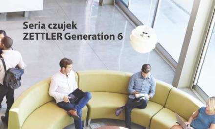 Seria czujek pożarowych ZETTLER Generacja 6