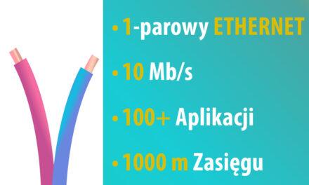 Jednoparowy Ethernet 10 Mb/s | SPoE