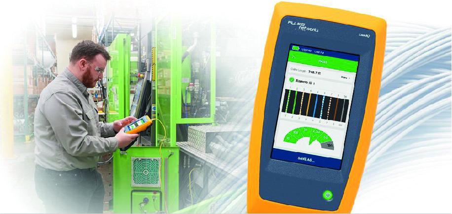 Przemysłowy tester sieci Ethernet – LinkIQ™
