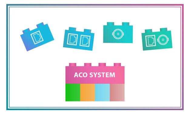 Wymienny interfejs, niespotykana elastyczność sieci – system ACO Ultra